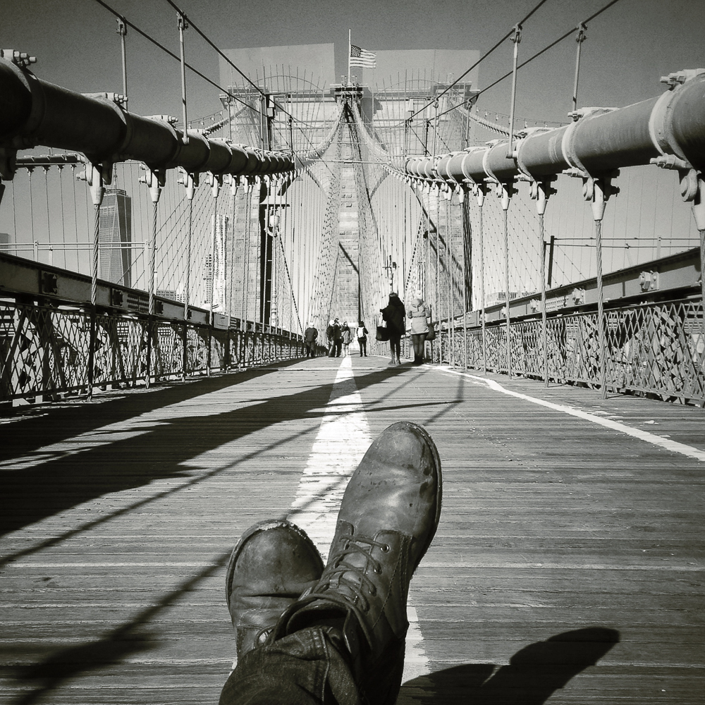 Brooklyn Bridge, New York, 8.01.15