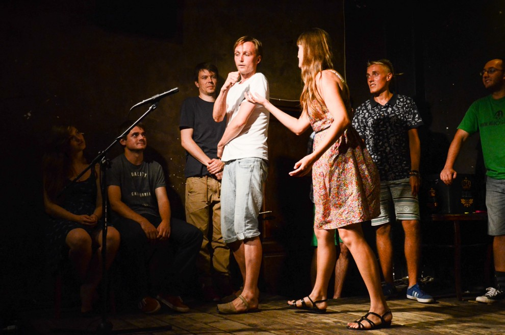 Improvisation theatre