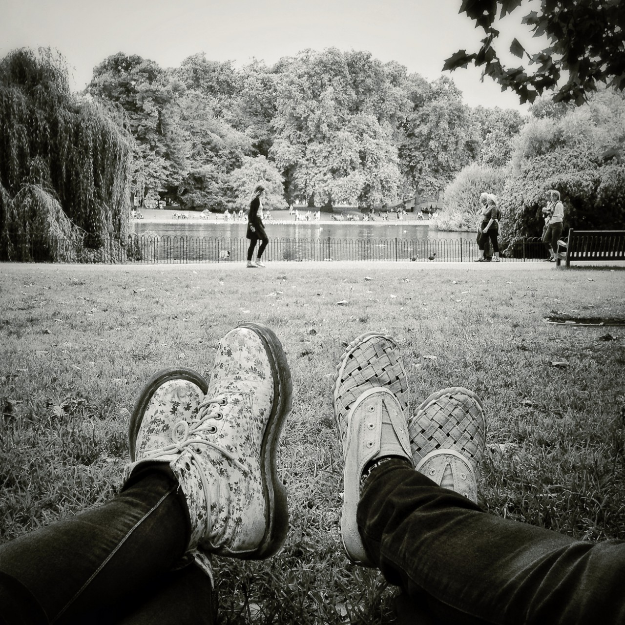 St James's Park in London (from the Kordian by Julius Slowacki) 15.08.13